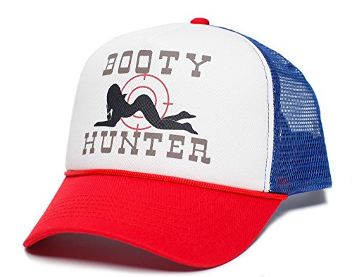 Booty Hunter Unisex-Adult Curved Bill One-Size Truckers Hat -