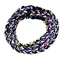 """TOOTO Package of 10 Sport Style Tornado Titanium Necklaces-20"""" Length (Multicoloured)"""