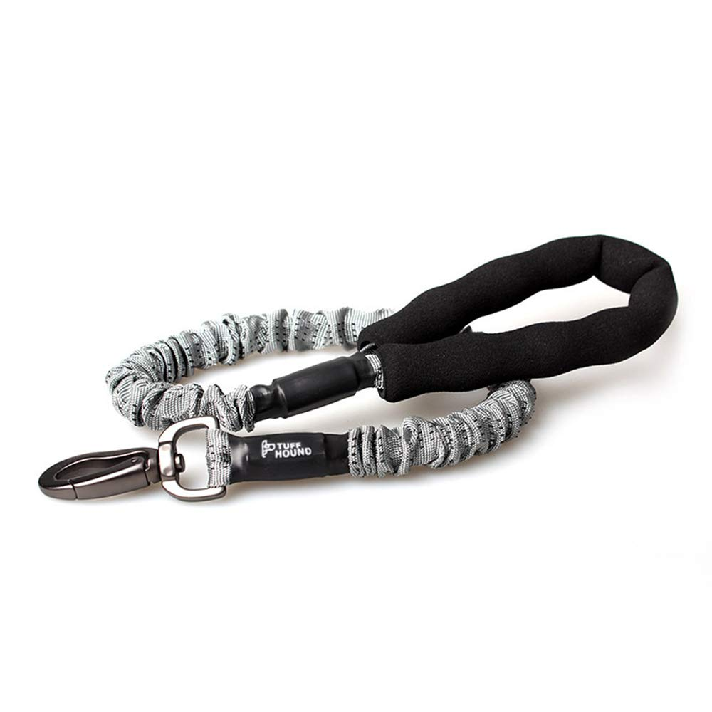 Nylon Dog Leashes Big Dog Rope Lead Leash for Large Breeds W No Twist Hook Clip Control Padded Nylon Top Close Grip Handle On110cm Training Durable Pet Cord Leash