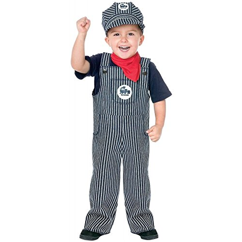 Train Engineer Toddler Costume - Toddler (Conductor Costume Toddler)