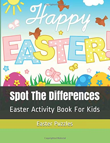 Pdf Humor Spot The Differences: Easter Activity Book For Kids (Easter Basket Stuffers)
