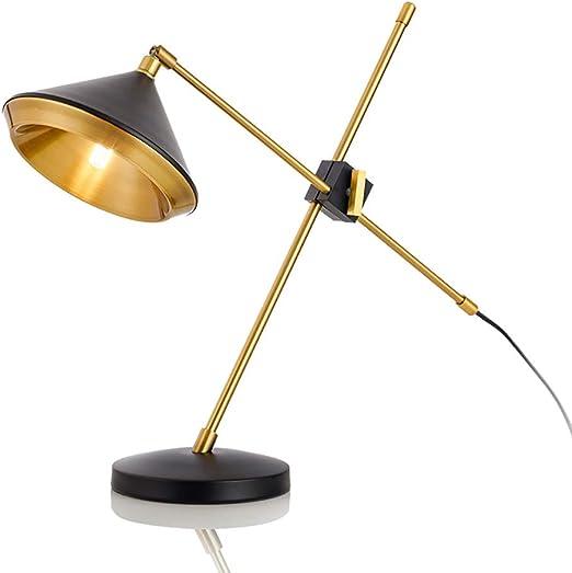 Lámparas de escritorio Lámpara de escritorio con brazo oscilante ...