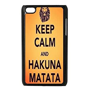 AinsleyRomo Phone Case Hakuna Matata Lions story pattern case FOR IPod Touch 4th HKNAT51395