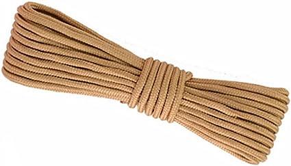 GWXPYS Cuerda de Escalada, Color marrón, 10 m, 20 m, 50 m ...