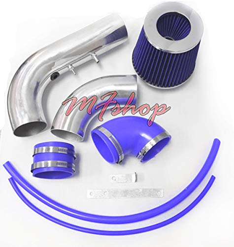 - 2002 2003 2004 2005 Chevy Cavalier and Pontiac Sunfire with 2.2L L4 Engine Air Intake Filter System (Blue Filter & Accessories)