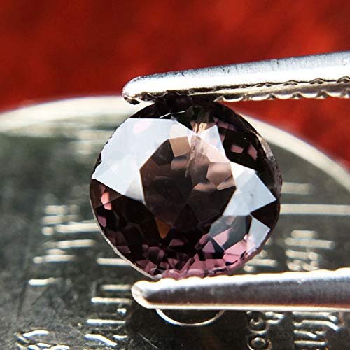 Lovemom 1.14ct Natural Cushion Unheated Purple Spinel Myanmar #PU by Lovemom (Image #1)