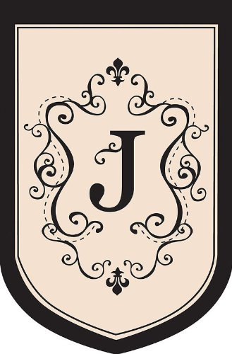 (Regal Monogram Estate Flag - J)