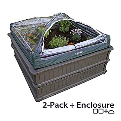 Lifetime Raised Garden Bed Kit, 4 Feet by 4 Feet by Lifetime Products Inc