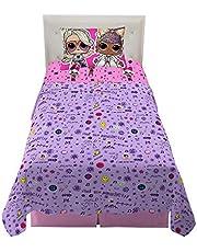 Franco Kids Bedding Soft Microfiber Sheet Set, 3 Piece Twin Size, LOL Surprise