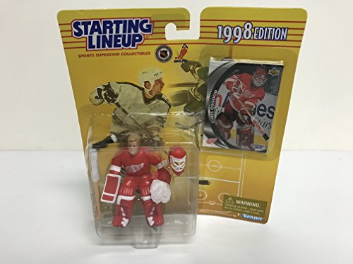 Chris Osgood Detroit Red Wings Collectible Action Figure Toy with Trading Card