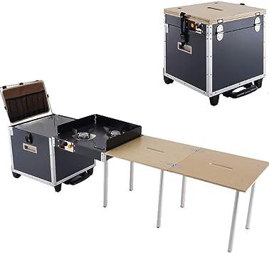 Mesa Plegable portátil para Cocina al Aire Libre para Camping ...