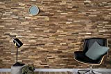 WoodyWalls 3D Reclaimed Barn Wood Wall Panels   DIY