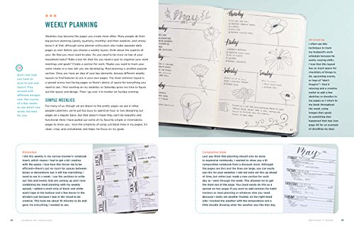 Journal Me Organized: The Complete Guide to Practical and Creative Planning by Get Creative 6 (Image #3)