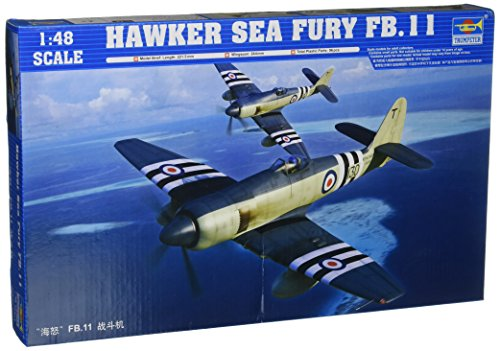Trumpeter 1/48 Hawker Sea Fury FB11 Fighter Model Kit