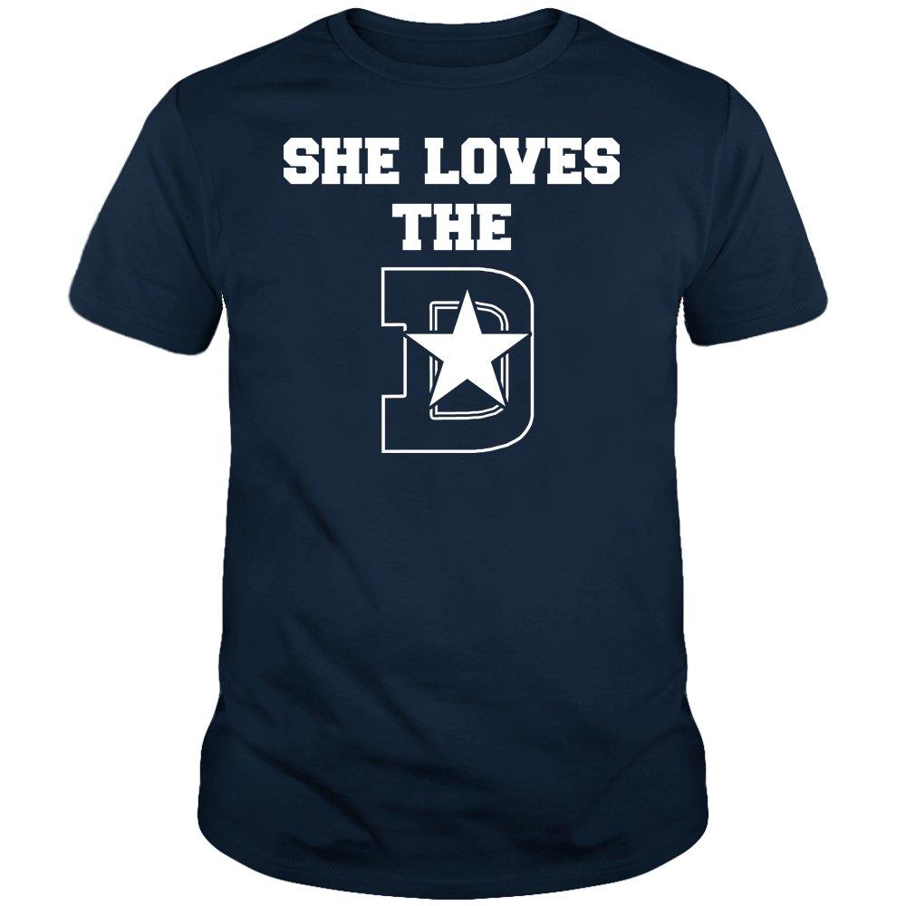 She Loves The Dallas D Shirt