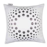 Madura Decorative Pillow - Throw Pillow cover Solar 16X16 White