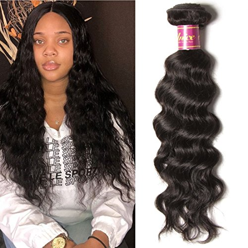 Unice 8a Grade Brazilian Natural Wave 1 bundle Virgin Human Hair Extensions Weave Natural Color (18inch)