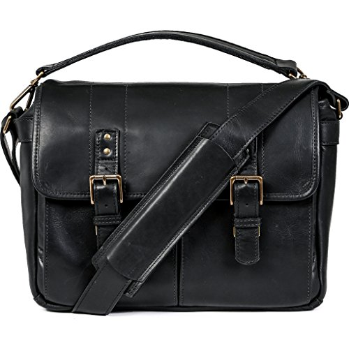 (ONA - The Prince Street - Camera Messenger Bag - Black Leather)