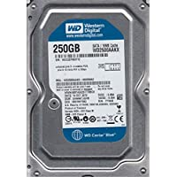 WD2500AAKX-00ERMA0 Western Digital 250GB 7200RPM SATA 6.0 Gbps 3.5 inch Hard Drive