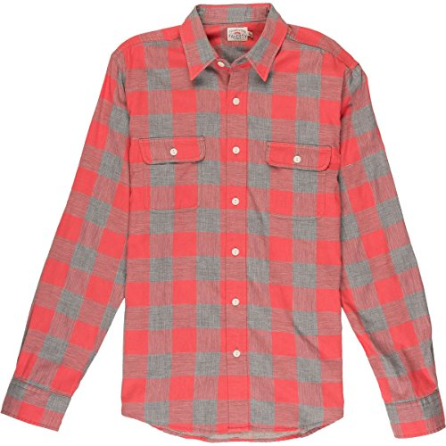 Faherty Belmar Work Shirt - Men's Red Buffalo Check, L