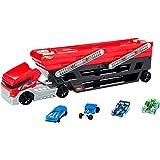 Hot Wheels Mega Hauler + 4 Cars