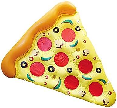 Eurowebb Colchón Flotador Hinchable Pizza – Flotador Part de ...