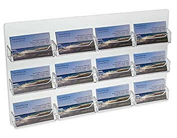 Amazon Source One 12 Pocket Wall Mount Business Card Holder