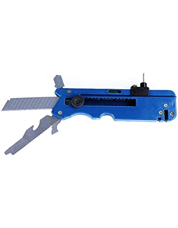 1pcs Multi-function Glass & Tile Cutter Six Wheel Metal Cutting Tool with Measuring Ruler