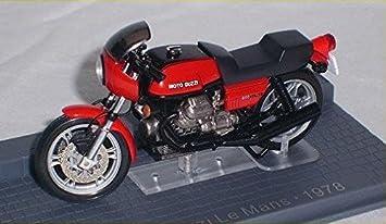 Moto Guzzi Le Mans 1978 Rot Red 1 24 Modellmotorrad Modell Motorrad Spielzeug
