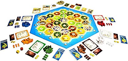 Mayfair Catan: Traders and Barbarians 5-6 Player Extension: Amazon.es: Juguetes y juegos