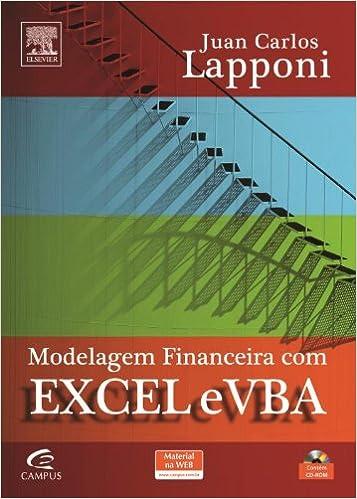 Ebooks gratuits à télécharger sur pc Modelagem Financeira com Excel e VBA (Em Portuguese do Brasil) 8535229620 PDF CHM by Juan Lapponi