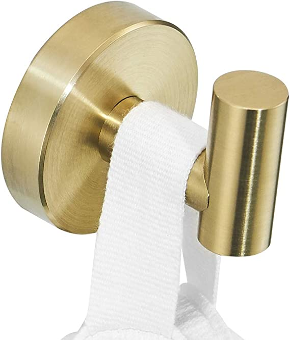 Color : C MLOZS Wand befestigten Badezimmer Handtuchhalter Kupfer wei/ßes Jade-Gold /überzogene Badezimmer Handtuchhalter Handtuchhalter Toilettenpapierhalter Toilettenb/ürste Hardware Anh/änger Set D