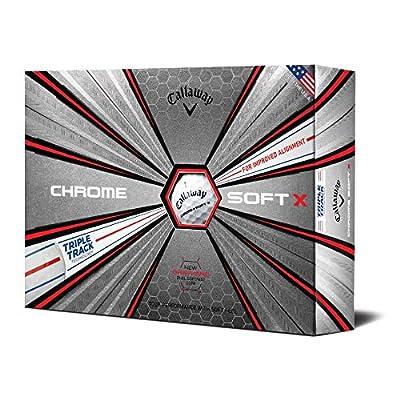 Chrome Soft X Triple Track Golf Balls (One Dozen)