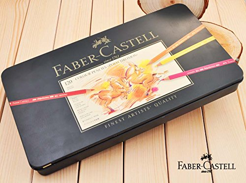 ファーバーカステル Faber-Castell ポリクロモス 油性色鉛筆セット120色 FC110011   B00X96BMB8