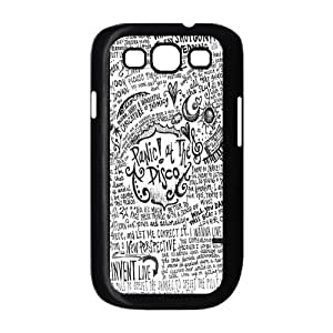 High Quality CustomizDurMaterial Panic! At The Disco Samsung Galaxy S3 Back Cover Case Designed by Windy City Accessories WANGJING JINDA
