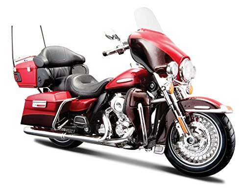 Bike Diecast Motorcycle - Maisto Motorcycles 1:12 Harley-Davidson Custom - 2013 Flhtk Electra Glide Ultra Limited