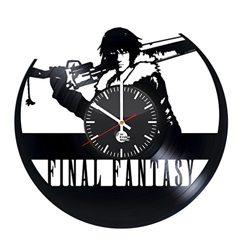 Final Fantasy XV Vinyl Record Wall Clock - Get unique bedroo