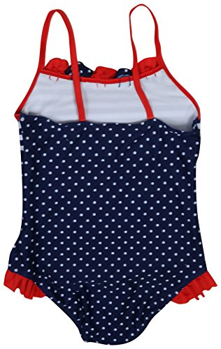 Real Love Girls' 2-Pack One Piece Swimsuit (Little Girls/Big Girls), Polka Dots, Size 7-8' by Real Love (Image #2)