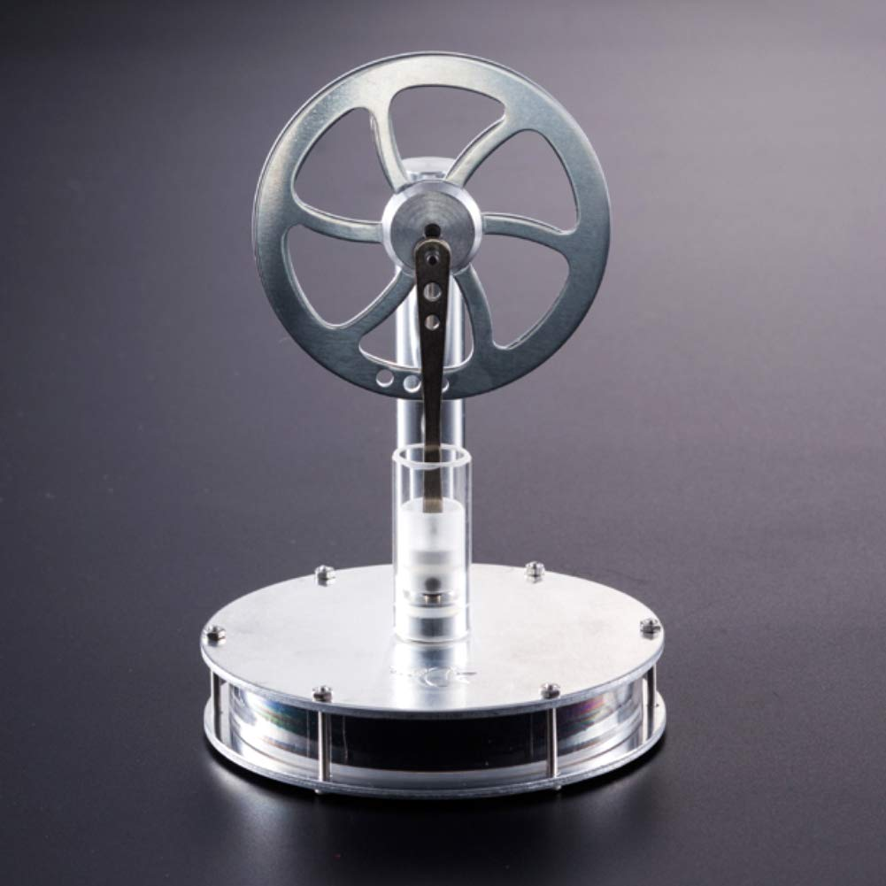 At27clekca Low Temperature Metal Stirling Engine Model Steam Motor Kids Educational Toy by At27clekca (Image #4)