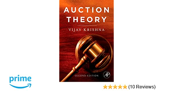 Amazon auction theory second edition 9780123745071 vijay amazon auction theory second edition 9780123745071 vijay krishna books fandeluxe Image collections