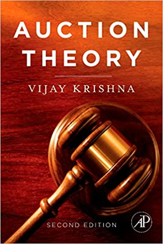 Amazon Auction Theory 9780123745071 Vijay Krishna Books