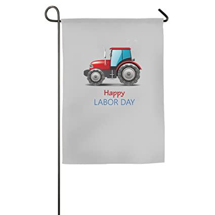 Happy Labor Day Heavy Car Decorative Garden Flag Outdoor Sports Flag