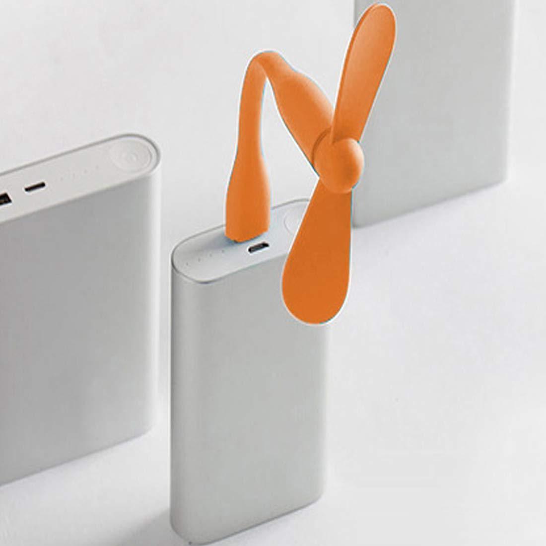 Basico Ventilateur Souple Portable Amovible Mini Ventilateur USB pour T/él/éphone pour Tous Les Alimentations Sortie USB Gadgets USB