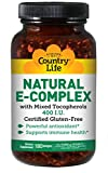 Country Life – Natural Vitamin E-Complex – 400 IU With Mixed Tocopherols – 180 Softgels Review