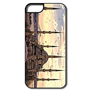 IPhone 5 5S Covers, Sultan Ahmed Mosque White/black Cases For IPhone 5 5S by icecream design