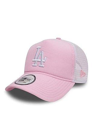 9b82086c New Era Los Angeles Dodgers Oxford A Frame Trucker Cap - Pink:  Amazon.co.uk: Clothing