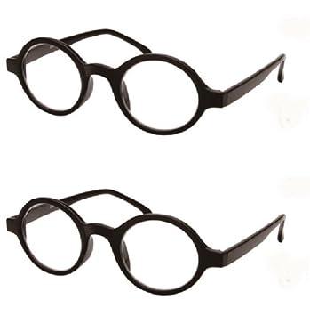 61ffb3de17c2 Amazon.com  Full Frame Lightweight Round Reading Glasses for Men and ...