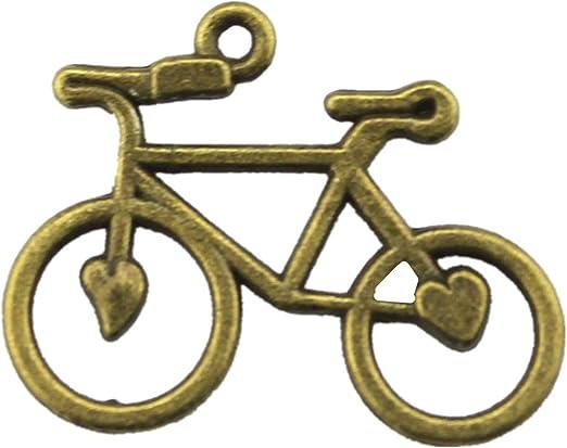 WYSIWYG 25 Piezas Encantos Brazalete Encantado Bicicleta 31x23mm ...