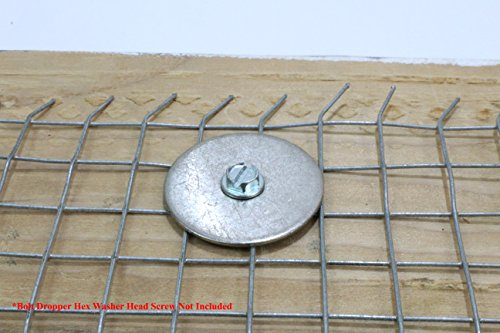 1/2'' x 2'' OD Stainless Fender Washer, (100 Pack) - Choose Size, by Bolt Dropper, 18-8 (304) Stainless Steel. by Bolt Dropper (Image #3)