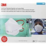 3M 1870 N95 Surgical Mask, 20 Count